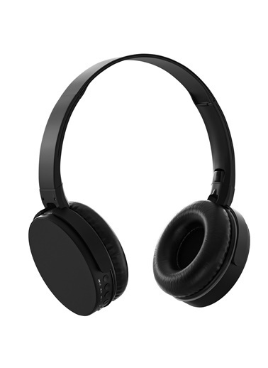 MF Product MF Product Acoustic 0235 Kablosuz Kulak Üstü tooth Kulaklık Siyah